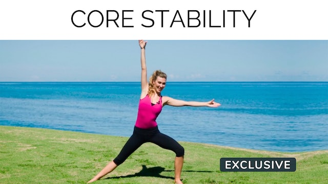 Core Stability with Amanda Cyr