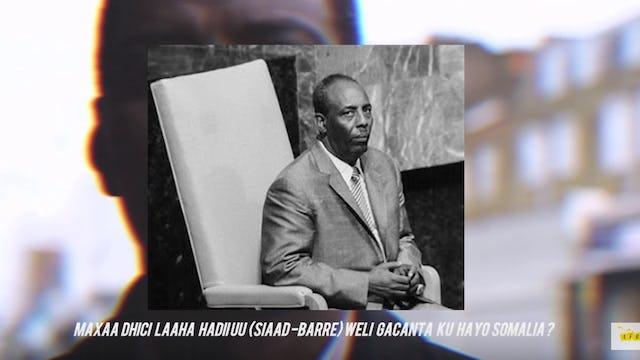 Fikraddaada Dhiibo (Siaad Barre)