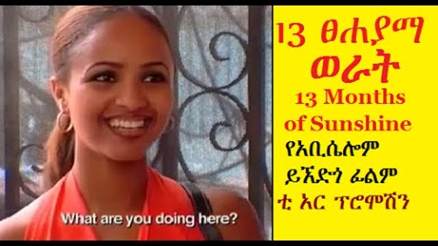 Ethiopian Movie 13 months of Sunshine...