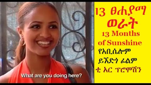 Ethiopian Movie 13 months of Sunshine...