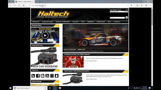Haltech Elite: Introduction - Haltech Elite Training Course - Evans