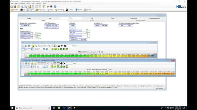 HP Tuners GM Gen 4 Training: VCM Scanner & MAF Tuning Process