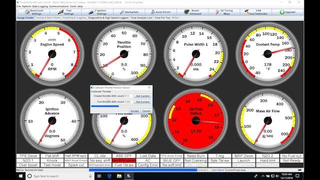 Megasquirt Part 4: Sensor Calibrations