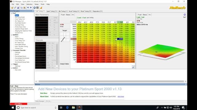 Haltech Part 13: Dual Tables & Gear Detection - Haltech Sprint