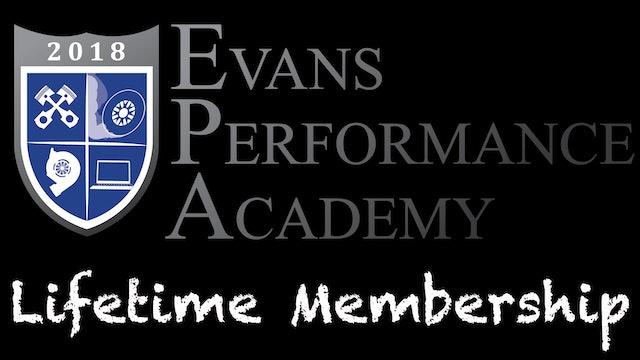 Evans Performance Academy Lifetime Membership