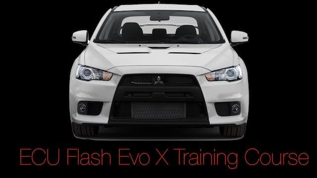 ECU Flash Training: Mitsubishi Evo X