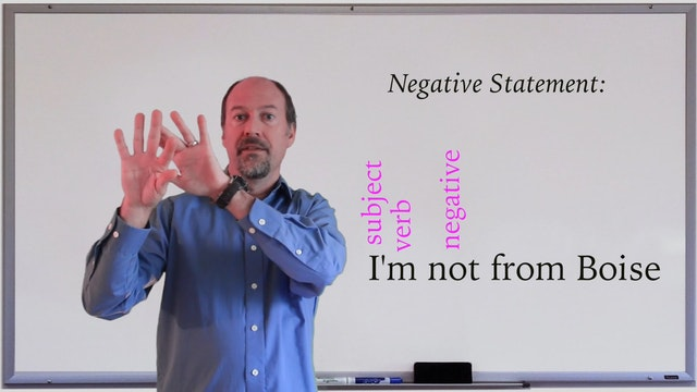 A1.L3.G1 Negative Statements and Yes/...