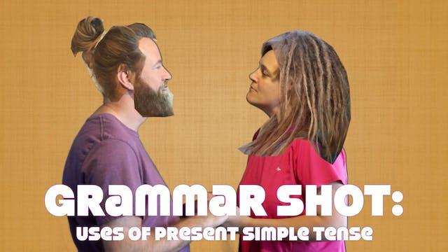 Grammar Shot: Uses of the Present Sim...