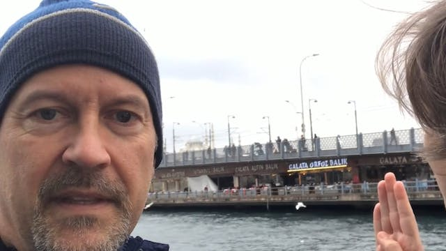 IGTV Cabin Fever and Galata Bridge