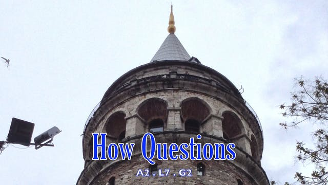 A2.L7.G2 How questions grammar