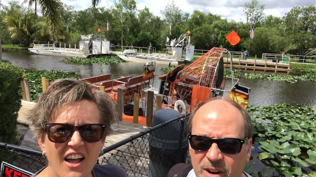 Travel: A Boat Ride in the Everglades