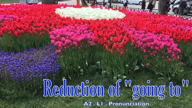 "A2.L1 Reduction of ""going to"" Pronunciation"