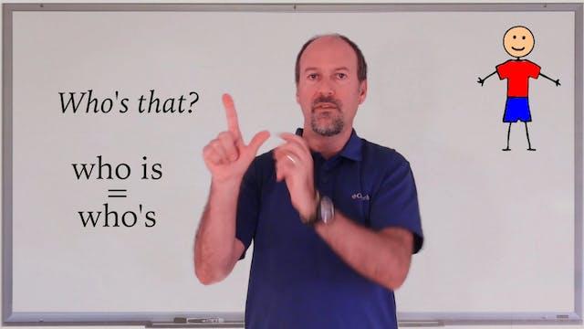 A1.L2.G2 Wh Question Words grammar