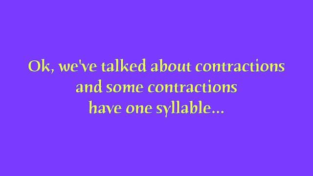 A1.L15 Contractions Pronunciation