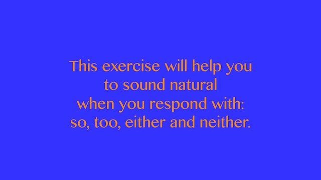 A2.L15 Stress in Responses Pronunciation