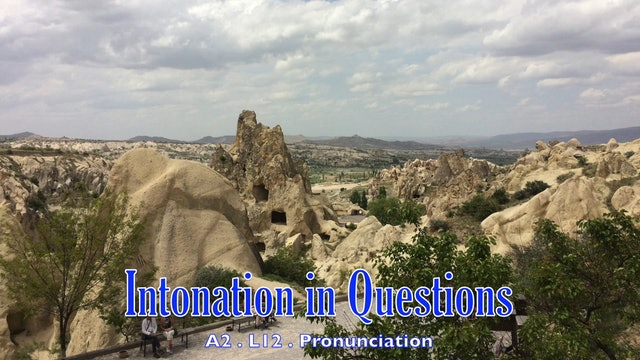 A2.L12 Intonation in Questions Pronunciation