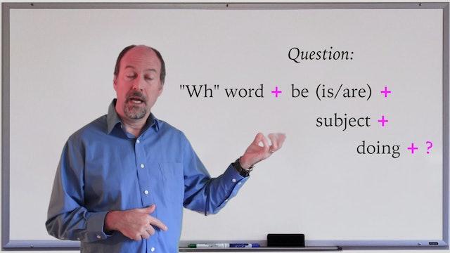 A1.L4.G2 Present Continuous grammar