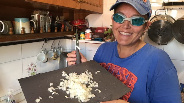 Everyday Activities: Chopping Onions