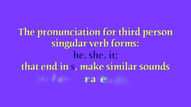 """A1.L6 Third Person Singular """"s"""" endin..."""