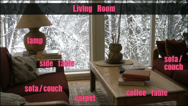 A1.L7.V2 Furniture vocabulary