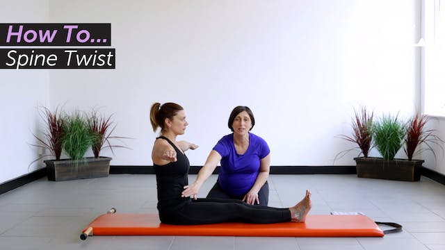 How To...   Spine Twist
