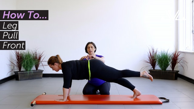 How To... | Leg Pull Front