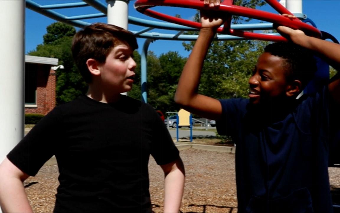 Playground Behavior Blurred