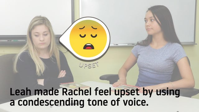 Condescending Tone of Voice