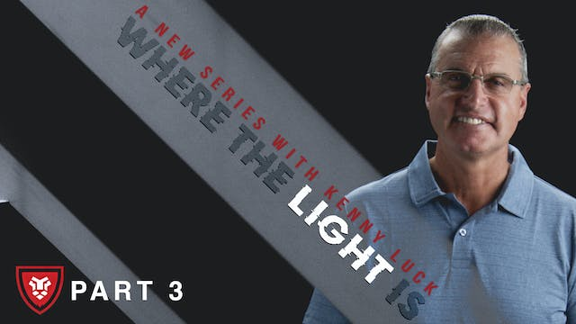 """""""Where The Light Is"""" Part 3 Live with..."""