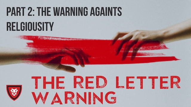 The Red Letter Warnings Part 2 with Kenny Luck