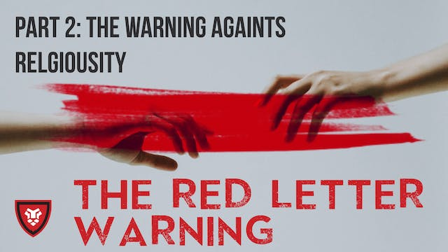 The Red Letter Warnings Part 2 with K...