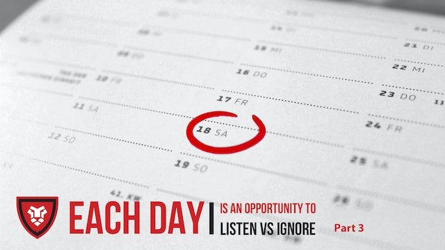 Each Day Part 3 by Kenny Luck