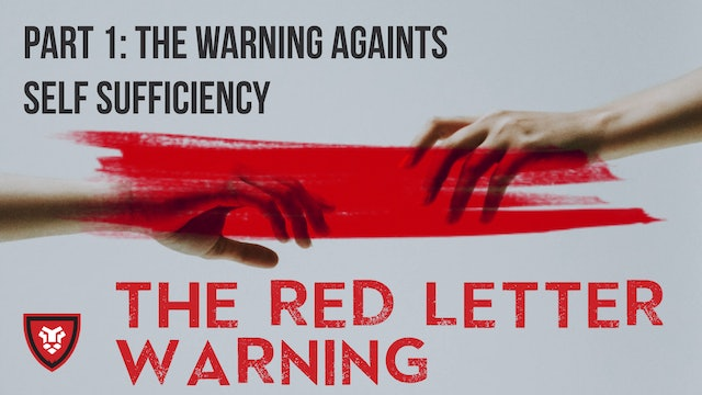 The Red Letter Warnings Part 1 with Kenny Luck