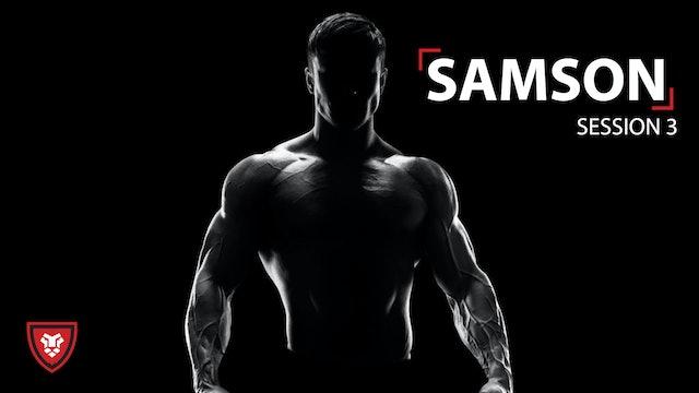 Samson Part 3 -Small Steps Towards Big Destruction