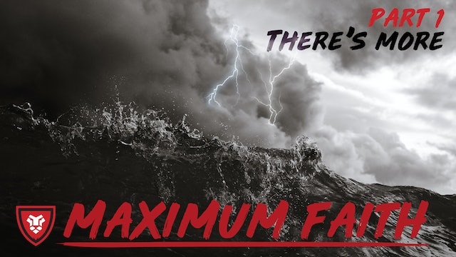Maximum Faith Part 1 with Kenny Luck