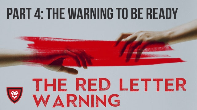 The Red Letter Warning Part 4 with Kenny Luck