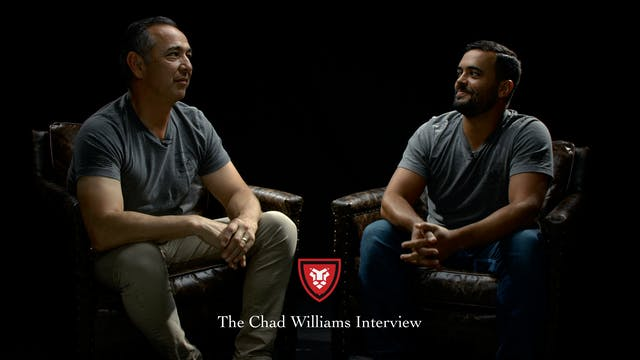 The Chad Williams Interview