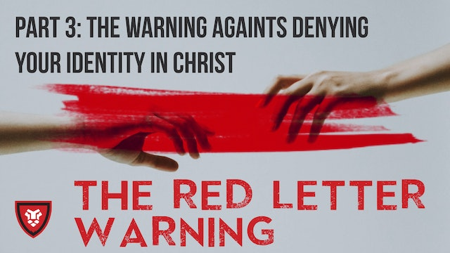 The Red Letter Warnings Part 3 with Kenny Luck