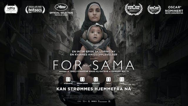 Grimstad kulturhus og Kino presenterer: For Sama