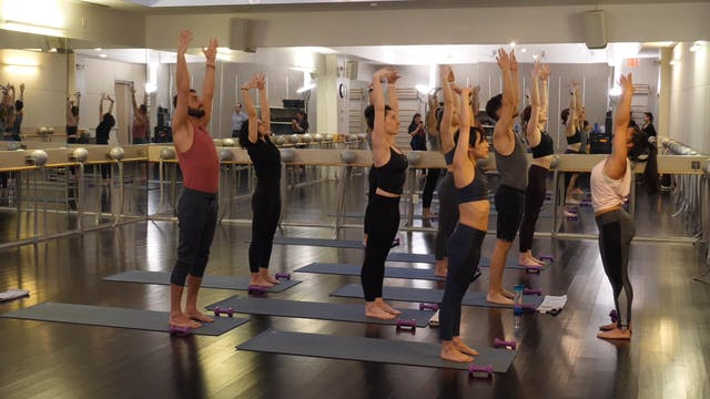 In-studio: Tone and Flow with Weights with Nicole Uribarri, 2.28.19