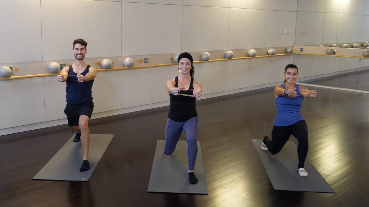 Resistance Loop Barre with Sarah Ambrose
