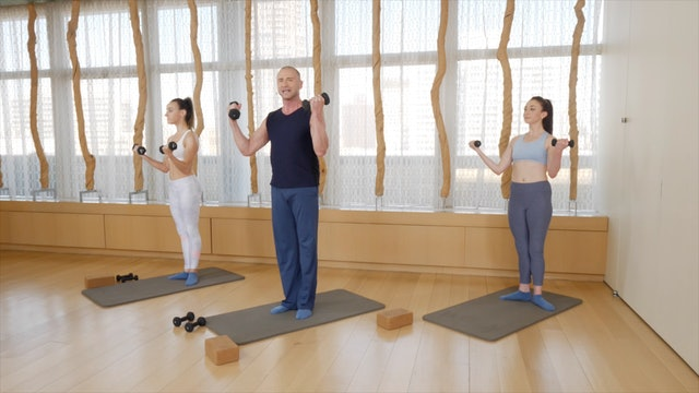 Barre Sculpt with Weights
