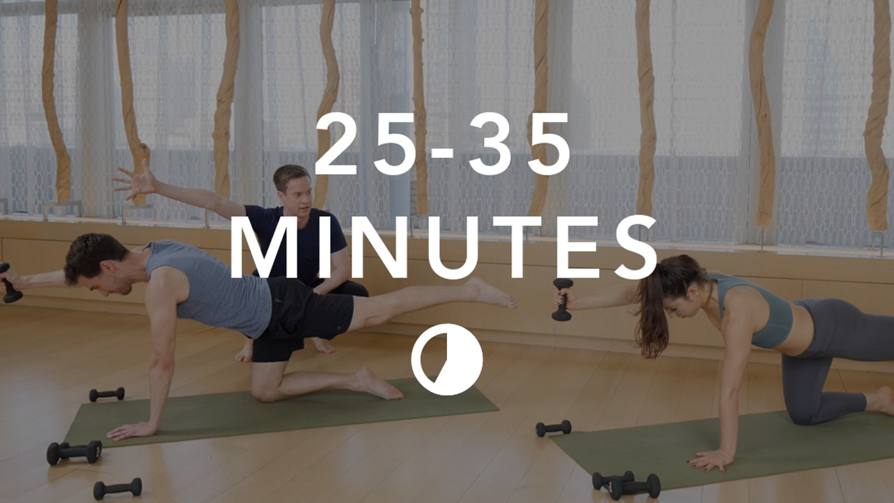 Yoga in 25-35 Minutes