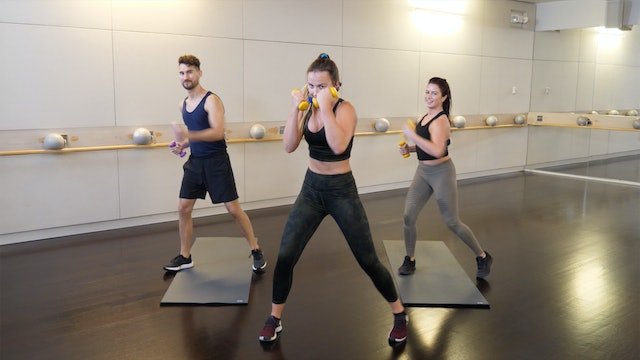 Barre(less) + Cardio with Leah Hassett