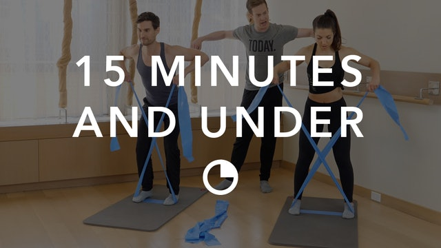Barre in 15 Minutes and Under