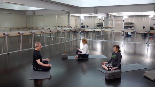 In-studio: Guided Meditation 1 with Edward Vilga