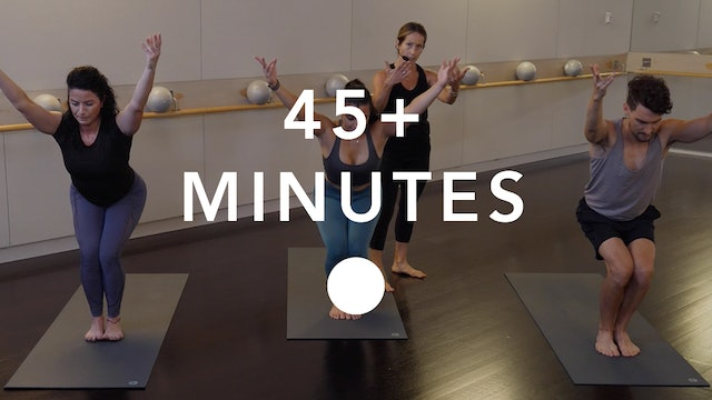 Yoga in 45+ Minutes