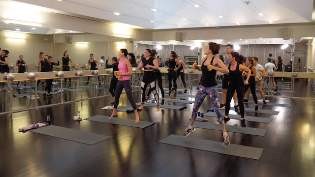 In-studio: Barre+Cardio with Bergen W...