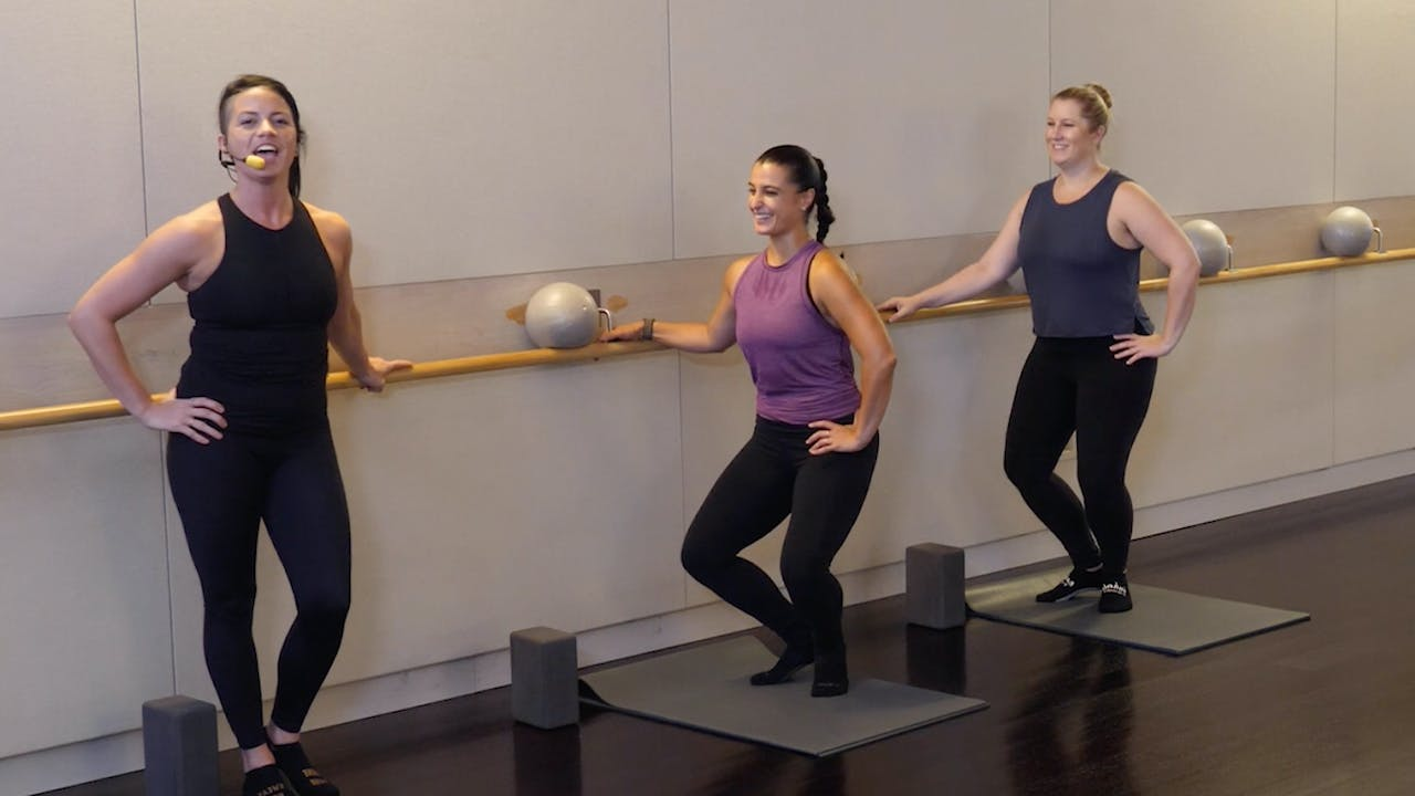 Barre with Sarah Ambrose 2