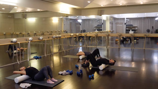 In-studio: Barre + Recovery with Berg...